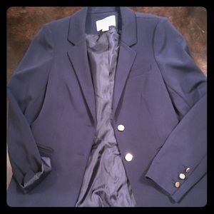Navy Bar III Suit Blazer